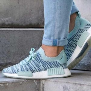 adidas NMD_R1 STLT Primeknit Running Workout Shoes